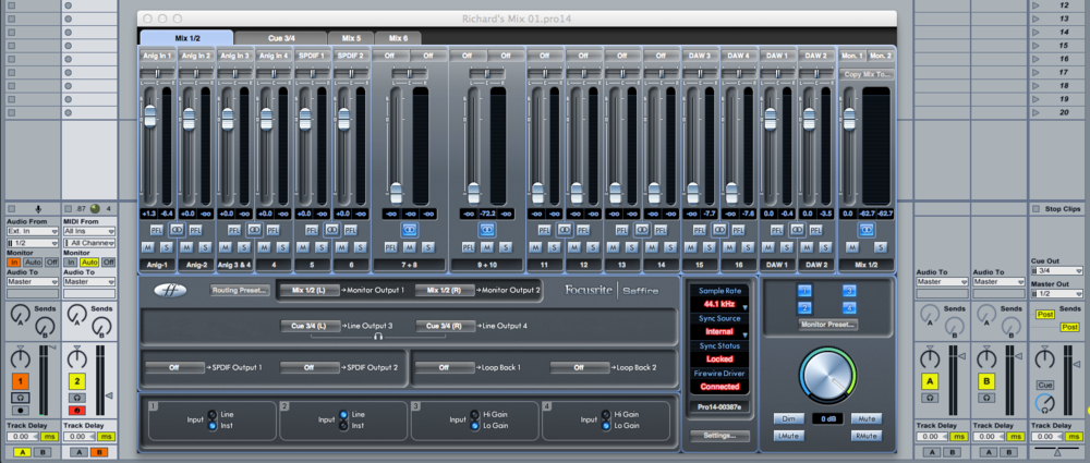 Saffire Mixcontrol 3