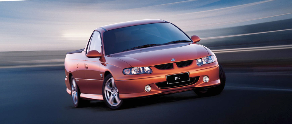 VU (VX) Commodore Utility 2000-2002