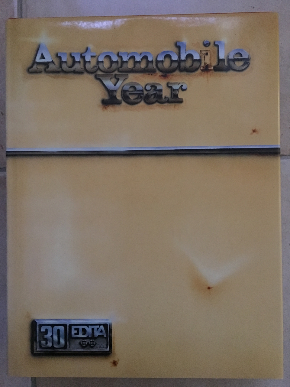 Automobile Year 30 1982-83