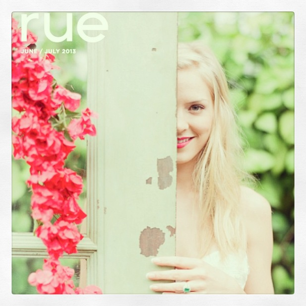 Issue #20 of the fabulous design & lifestyle magazine, Rue!