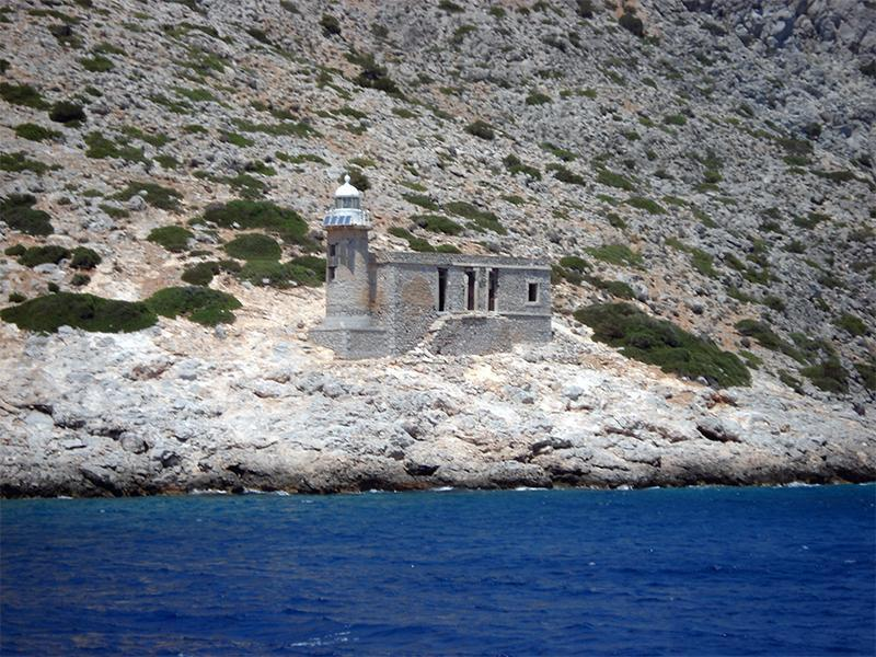 Lighthouse on Dokos