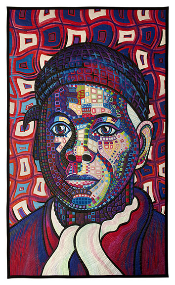 My  Social Visionaries Re-Imagined  Series led to an opportunity to collaborate with the renowned quilt artist Sheila Frampton-Cooper on a 3' x 5' quilt portrait of Harriet Tubman. The quilt was displayed in two museums before being sold with the intention of being displayed in a future Auburn, NY Visitor Center. It is now displayed at Auburn, NY's City Hall. For more info on the Harriet Tubman Quilt, please click  here .