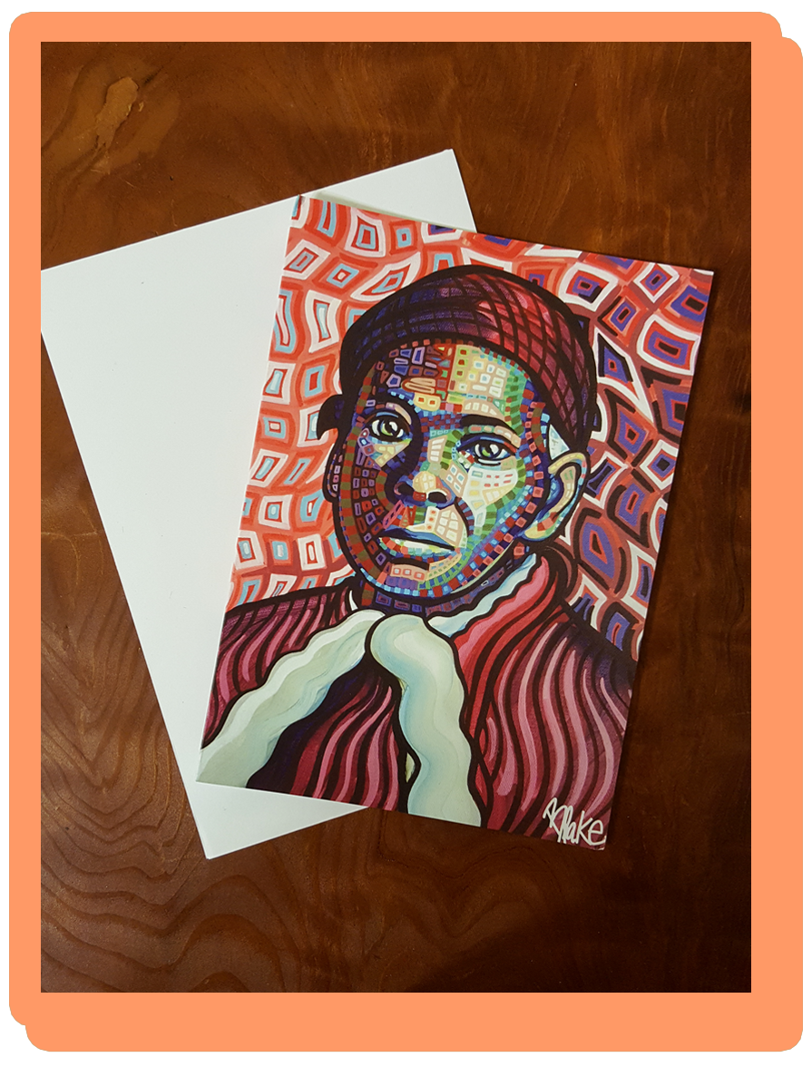 High quality Harriet Tubman image note cards are available from the  Syracuse Cultural Workers  catalog.