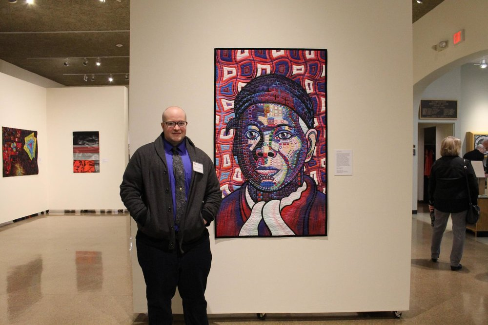 """Harriet Tubman"" on display at Schweinfurth Art Center  (photo by Davana Robedee)"