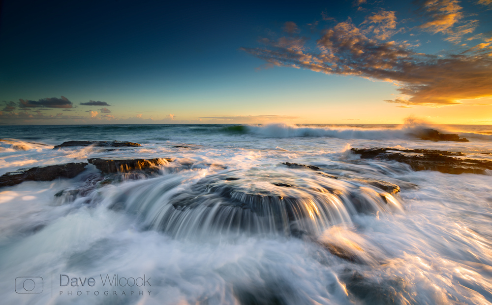 Coolum Beach Slow Shutter