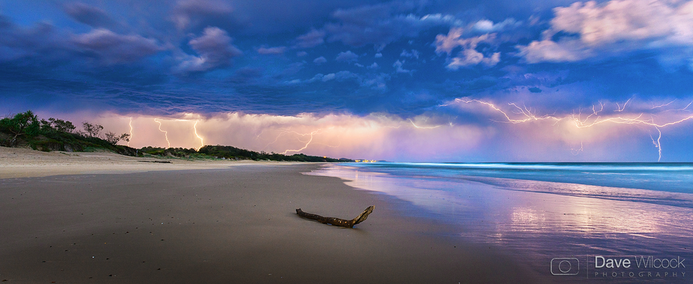 Coolum Beach Lightning