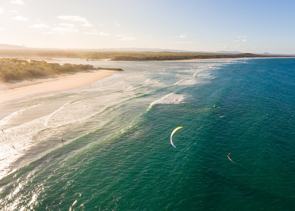 Noosa Kite Boarder