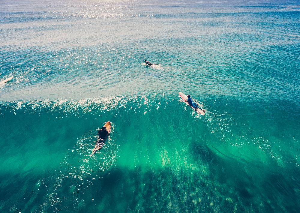 Surfer Trio