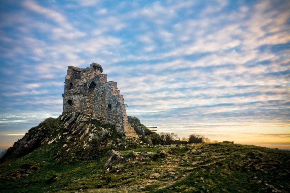 Mow Cop Sunset