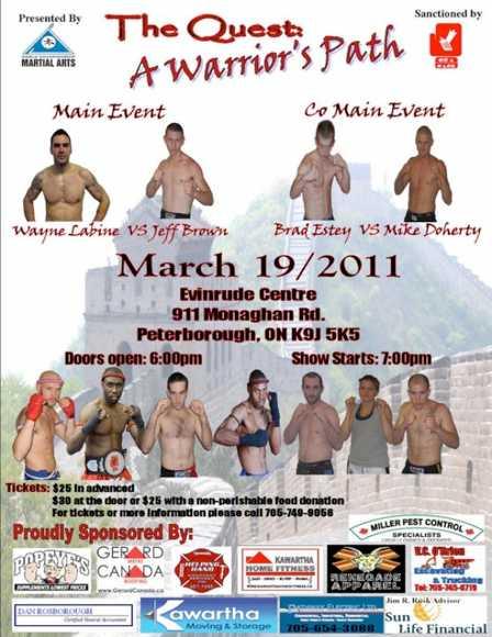Peterborough Kickboxing Event