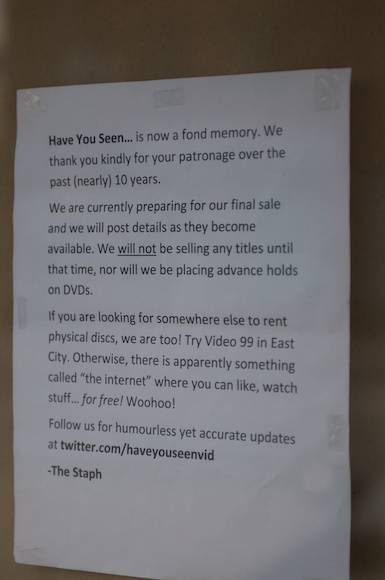 Read The Warm Funny Goodbye Letter To Customers From Have You Seen