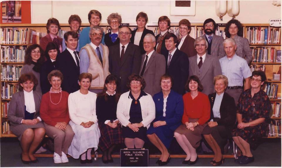 Staff 1985-1986