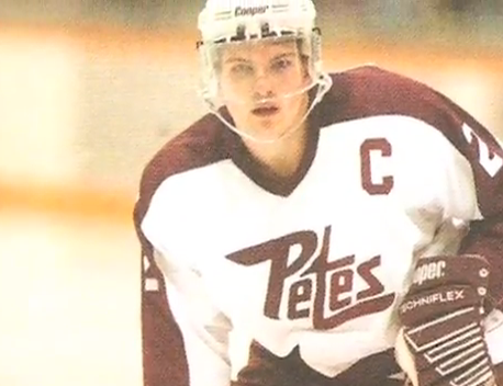 Tully back in the day anchoring D for the Petes