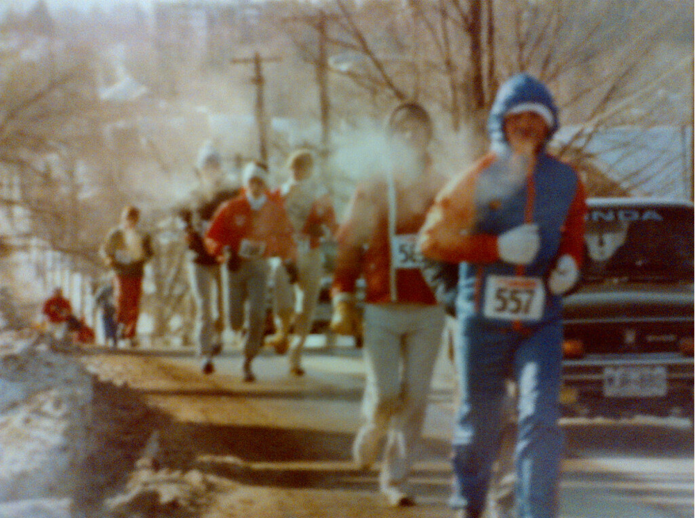 Old school pic from first race in 1978.