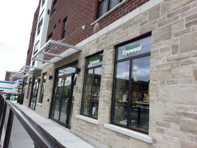 Green Eyewear: excellent new location