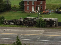 Photo of accident via CHEX TV