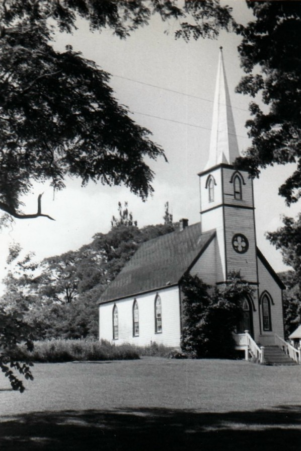 Hiawatha church, 1954