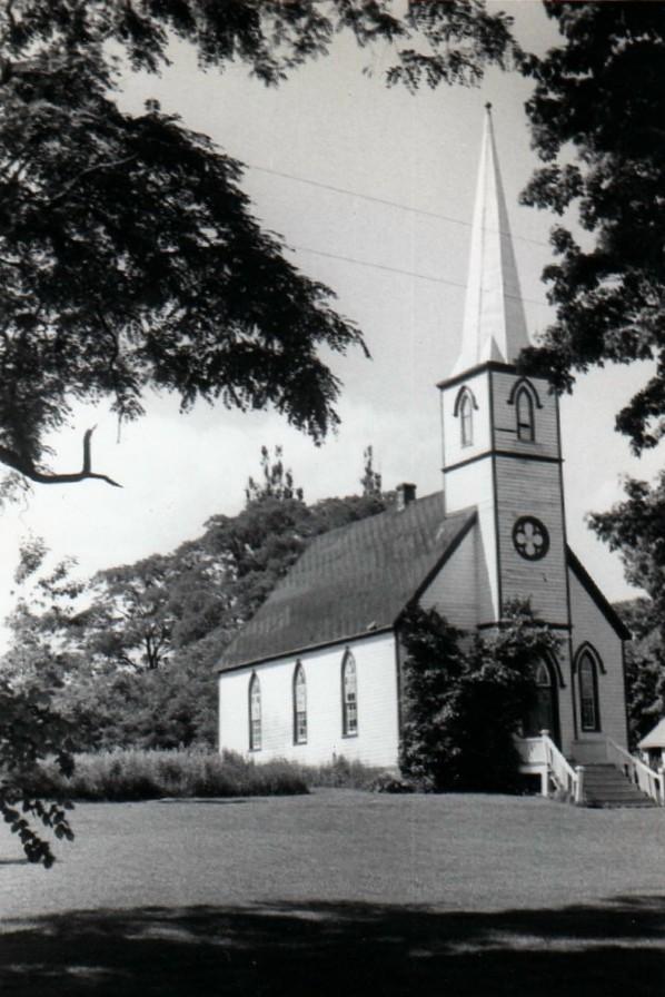 Hiawatha church, 1954