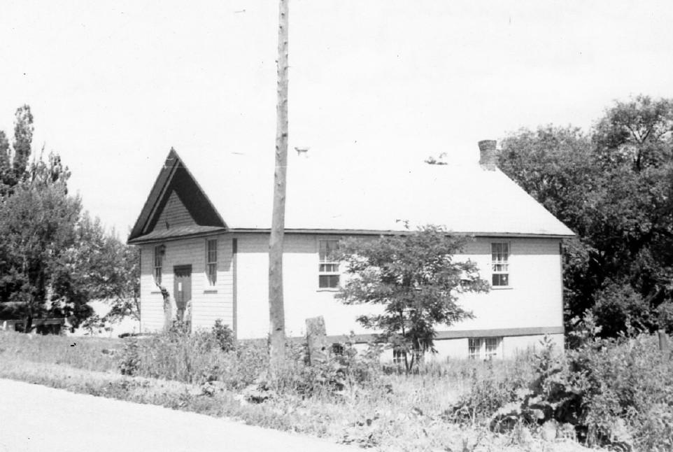 Hiawatha Community Hall, 1954