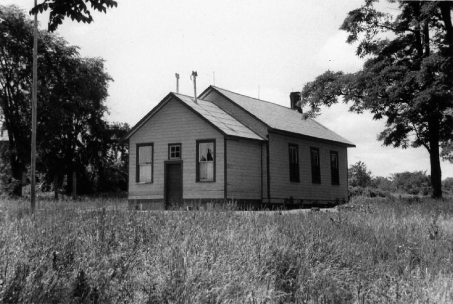 Hiawatha school, 1954