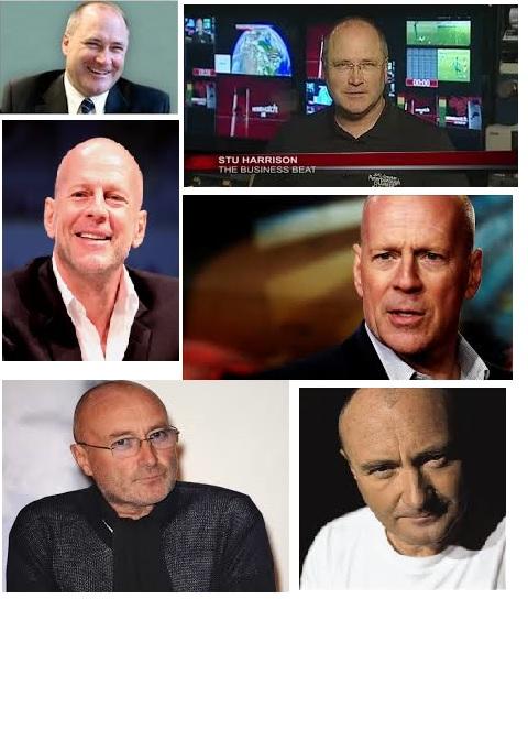 Montage: Stu, Phil, Bruce