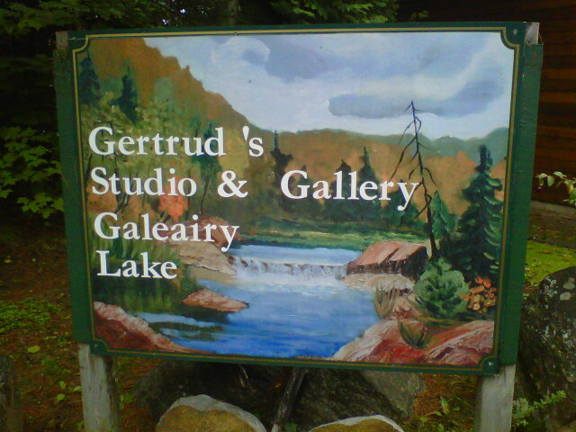 Art gallery & studio located right on the Couples Resort property