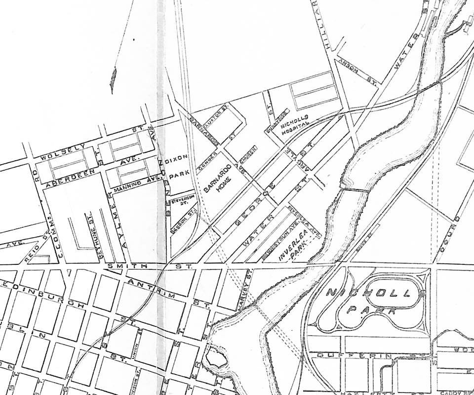 Spot The Different Names In Old Peterborough Street Map From 1912