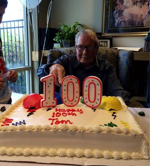 photo via Tom's granddaughter