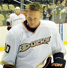 Photo of Corey Perry via Wikipedia