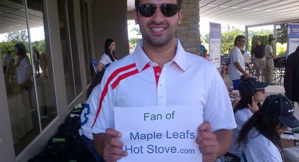Leafs player Nazem Kadri is a big fan of Alec's website