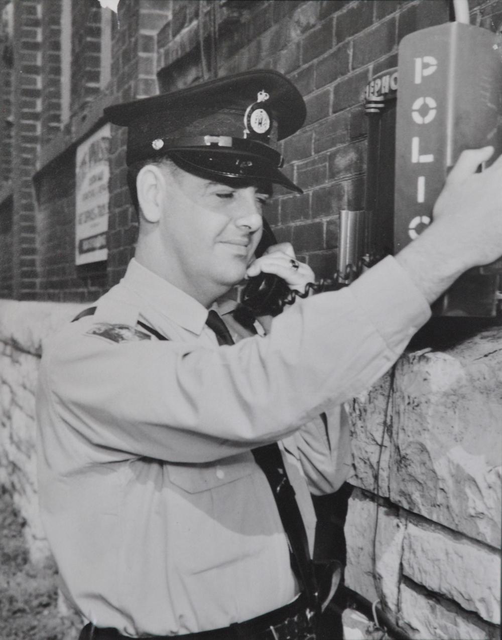 1960s, police phone