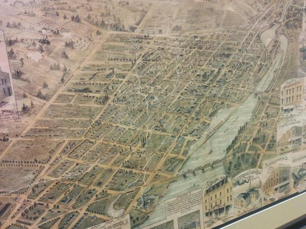 Heres A Really Neat Historic Map Of Peterborough PtboCanada