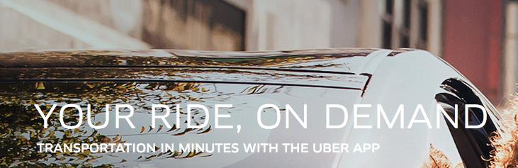 Picture via  Uber.com