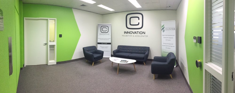 Photo of new space courtesy innovation Cluster