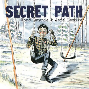 The cover of graphic novel telling the story of residential school runaway Chanie Wenjack