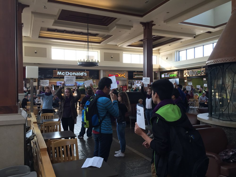 A Bunch Of Kenner Students Did Freeze Flash Mob At Lansdowne Place To Raise  Awareness About Domestic Violence 6653c9f323c3a