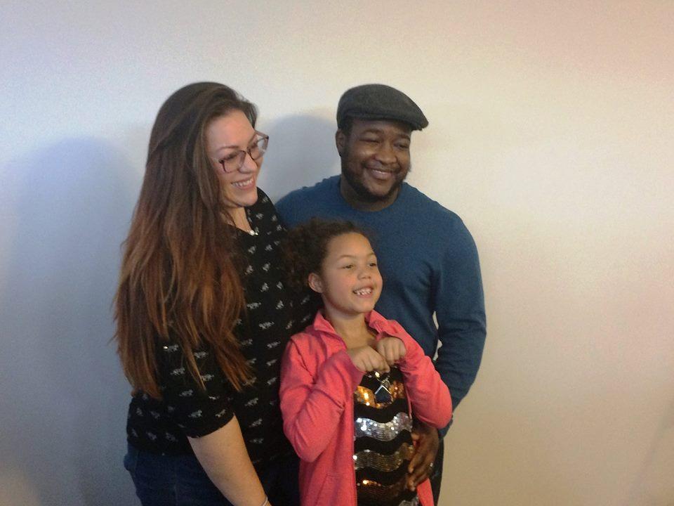 The Nyarota family: Sarah, Taku and Lexi
