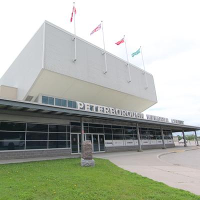 Memorial Centre, home of the Peterborough Petes