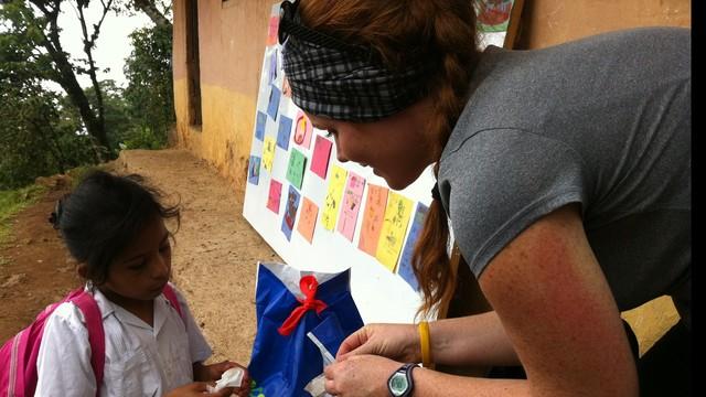 Robyne in Honduras, 2012