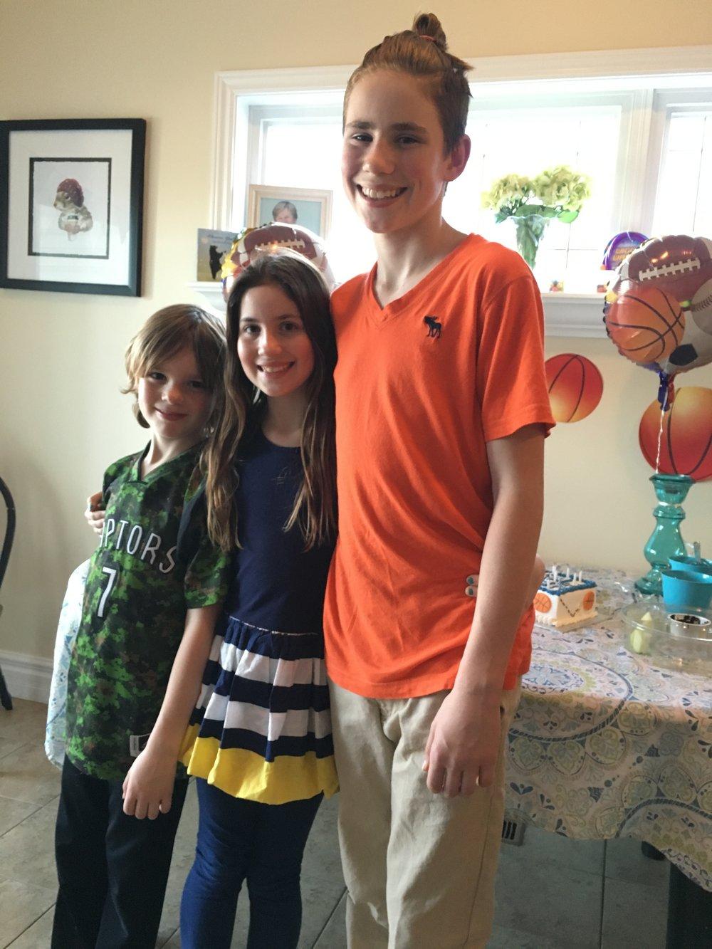 Robyne's children