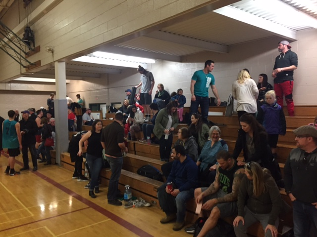 Spectators and family in attendance at Raider Dome
