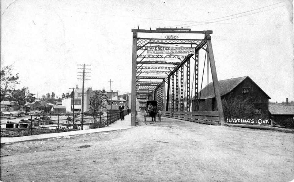 Entering Hastings circa 1905
