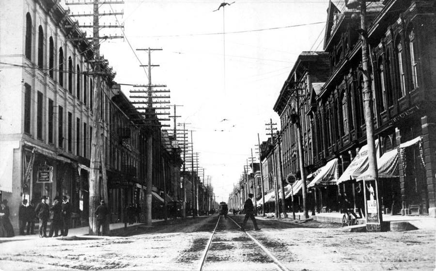 George Street, Peterborough, summer ca. 1908