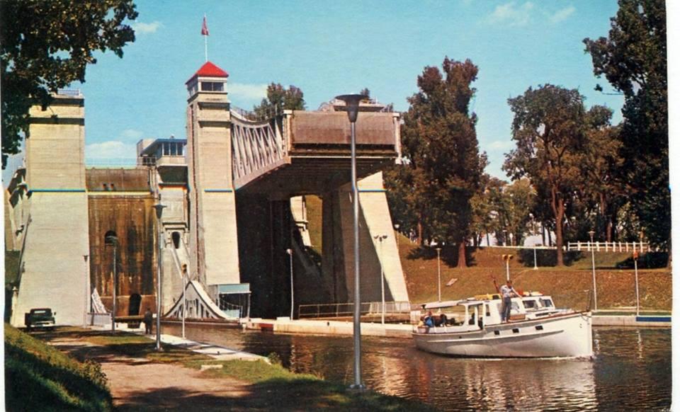 Peterborough Lift Lock ca.1965