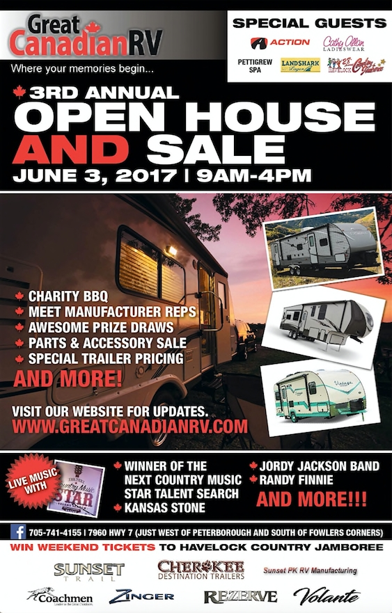Great Canadian Rv >> Great Canadian Rv Open House And Sale Ptbocanada