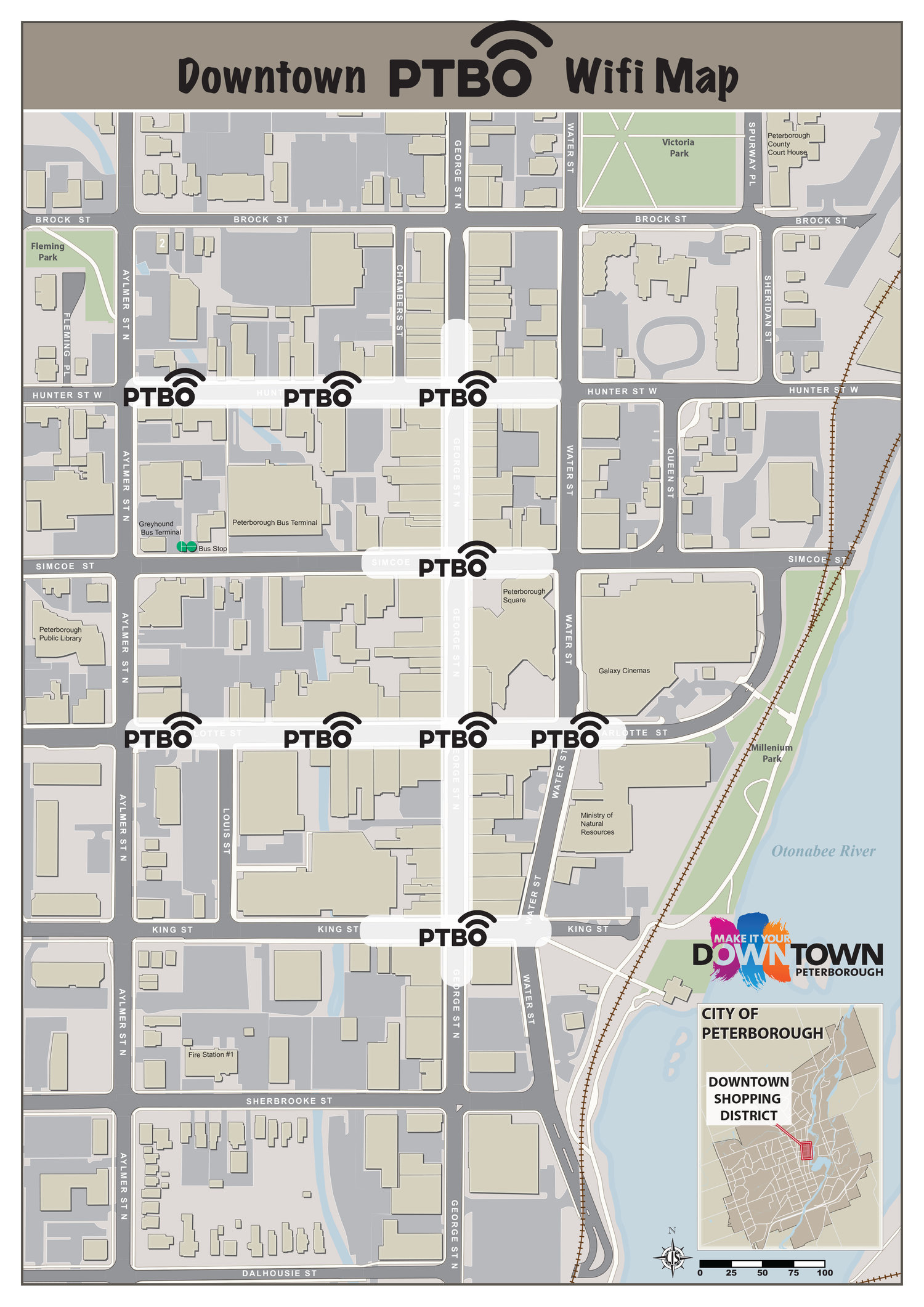Downtown Peterborough Is Now Offering FREE WiFi