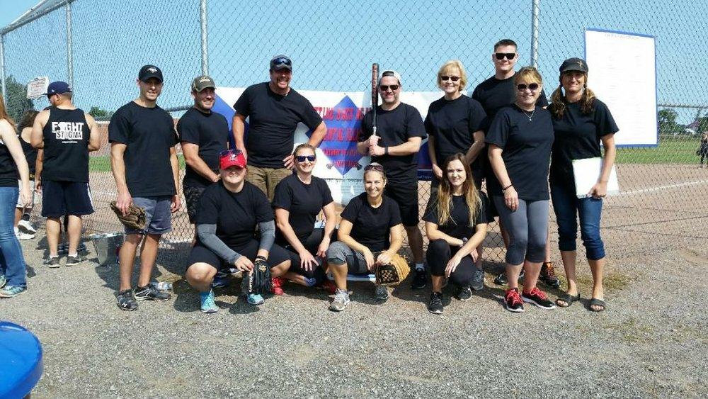 Members of Jake Stanley Baseball Team