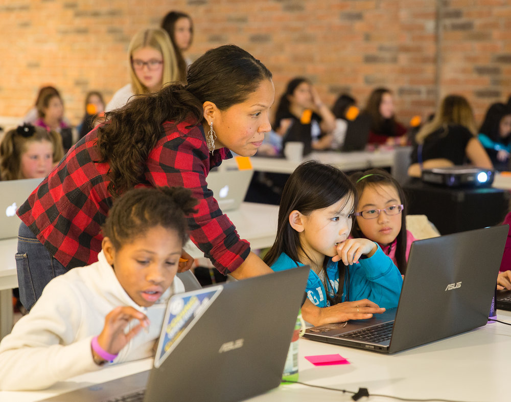 National Girls Learning Code Day