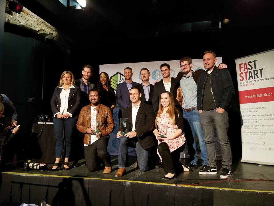 Cubs' Lair finalists and judges (Photograph by Sofie Andreou)