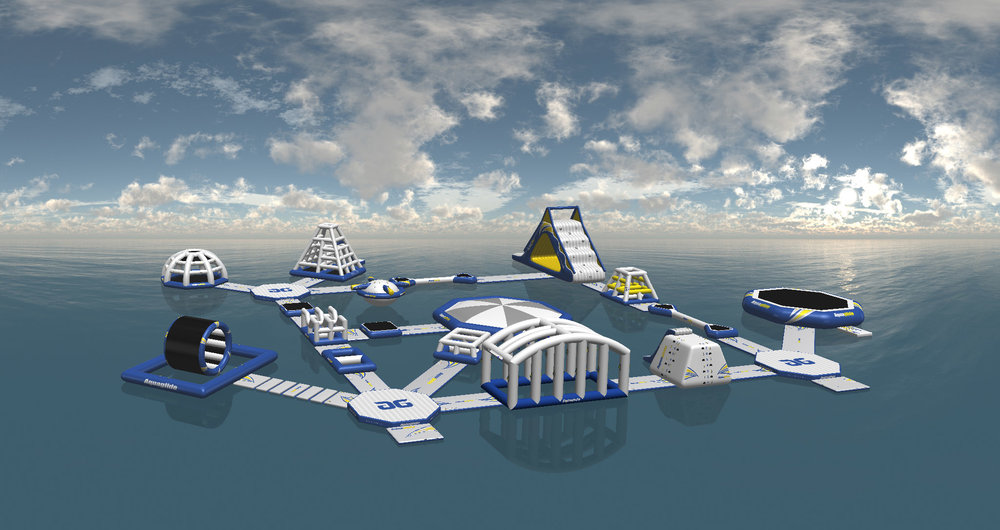 Rendering of Rail Yard Aquapark